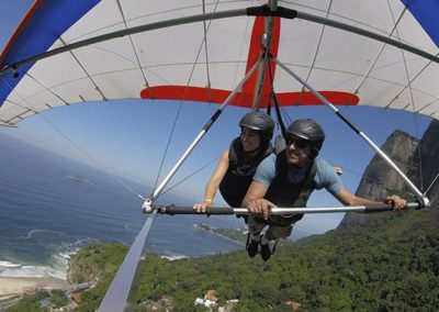 quanto custa voar de asa delta no Rio de Janeiro
