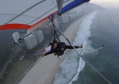 Quanto é para voar de Asa delta no Rio de Janeiro